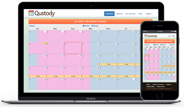 Qustody | Simple and Easy Custody Calendar